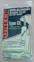 Genuine Oreck Type CC Hypo-Allergenic Filter Bags XL21 (8)