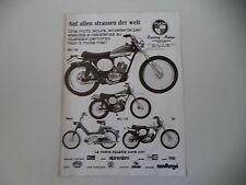 advertising Pubblicità 1975 MOTO PUCH MC 125/MC 175/MAXI/50