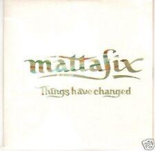 (H511) Mattafix, Things Have Changed - DJ CD