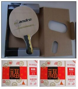 RA-AND-021 : ANDRO PERFORMANCE OFF+ TABLE TENNIS RACKET SET # 1