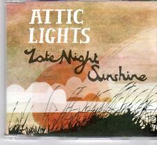 (DX765) Attic Lights, Late Night Sunshine - 2008 DJ CD