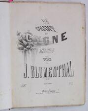 1880 13 SPARTITI BLUMENTHAL VIVIANI PISTILLI DONIZZETTI