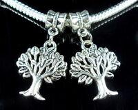 40pcs Tibetan Silver Star Dangle Charms Fit Bracelet ZY42