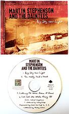MARTIN STEPHENSON AND THE DAINTEES - Big Sky New Light (CD Single Pt 1) (VG+/G+