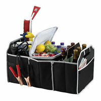 Car AUTO Trunk Cargo Organizer Collapsible Bag Storage Black Folding Fold Case
