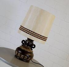 PAN Pop Art Keramik Stehleuchte Stehlampe Floor Lamp Fuß beleuchtet 60er Jahre