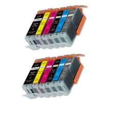12 PK New Ink Set + Chip for PGI-250 CLI-251 Canon MG6320 MG7120 MG7520