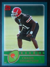 NFL 356 Chaun Thompson Cleveland Browns Topps Rookie 2003