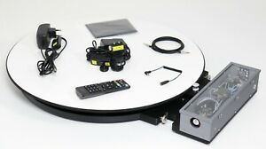 Professional 360° Product Photography Turntable. For 3D Scanning and Photography
