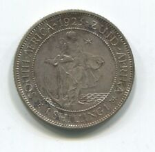 SOUTH AFRICA SHILLING 1923 SILVER PROOF