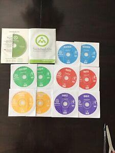 switched on schoolhouse 8th grade 5 subject set with installation disk