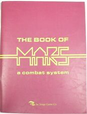 The Book of Mars, Image Game Co 1st Edition with Dust Cover Sci-Fi RPG 1981