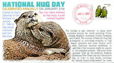 """COVERSCAPE computer designed """"National Hug Day"""" 2017 event cover"""