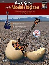 Rock Guitar For The Absolute Beginner Richard Hinman Tab Book Cd NEW!