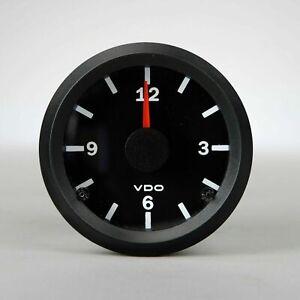 1956-1979 Volkswagen Bus Ghia Beetle Type 3 VDO Clock Gauge - SHIPS FREE Today