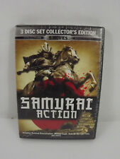 Samurai Action 3 Disc DVD Collector's Edition Bruce Lee, Meng Fei, David Chiang