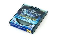 Hoya Pro1 Digital UV Filtro 58mm-Nuovo di zecca, in scatola e non utilizzati!