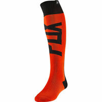 FOX RACING FYCE THICK MX SOCKS FLO ORANGE OFF-ROAD UTV BMX MTB SIZE LARGE/10-13