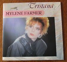 Mylene Farmer, Tristana / au bout de la nuit, SP - 45 tours