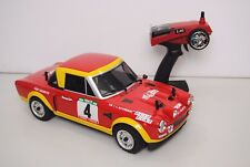 EZRL126 Modelo de coche Eléctrico 4x4 The RALLY Legends Fiat 124 ABARTH 1975