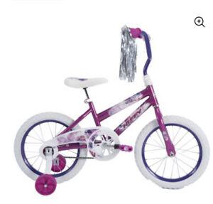 Huffy Sea Star 16 inch Kids Bike - Purple