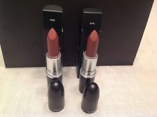 MAC TAUPE & WHIRL LIPSTICK, FULL SIZE & BRAND NEW IN BOX - 100% AUTHENTIC !!