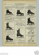 1927 PAPER AD Alumo Crusader Hockey Racing Ice Skates