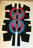 Jimmy Ernst Serigraph, hand signed and numbered