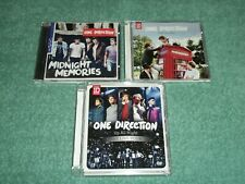 2 ONE DIRECTION CD MIDNIGHT MEMORIES & TAKE ME HOME plus UP ALL NIGHT LIVE DVD
