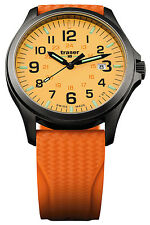 TRASER H3 Herrenuhr P67 Officer Pro Gun Metal Orange Taucherband 107423
