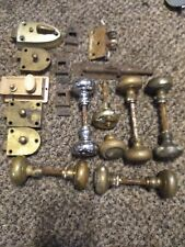 Large Vintage Lot Deadbolt Locks Door Lock, Metal Door Knobs & Other Hardware