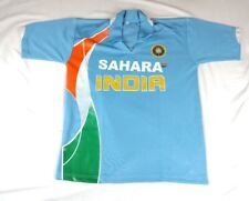 SAHARA INDIA Men's Medium Cricket NATIONAL TEAM Jersey Blue ( Worn 1x) $69