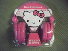 Hello Kitty Headband Headphones - Pink with Bonus Nice Christmas Gift  HK-10809