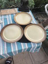 "3 Mikasa Bob Van Allen Sandstone Chop Plate Platter 12"""