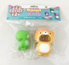 Soft N Slo Squishies Costume Cutiez NIP Dinosaur Panda