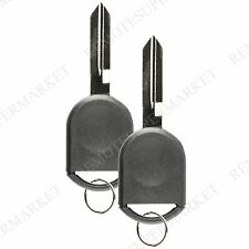2 Replacement for Ford 2006-2010 Focus 2004-2007 Freestar Remote Fob Car Key