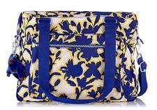 Kipling GABIN Large Shoulder/Across Body Bag FUNKY FLOWER INK Print RRP £89