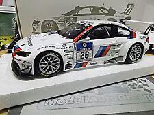 BMW m3 24h Nurburgring 2010 gt2 e92 #26 Müller werner priaulx Minichamps 1:18