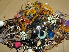 Junk Drawer 2 lbs Vintage-Now Broken Jewelry Lot: Parts For Crafts And Repair