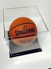 Basketball Deluxe Display Case Acrylic Perspex - BLACK Signed Ball Memorabilia