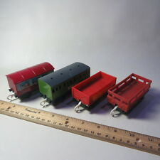 Lot of 4 Thomas the Train Trackmaster Cars, Party Car, Works Unit, McColls Farm