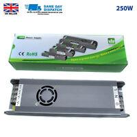 250W DC12v IP20 Transformer Power Supply Adaptor Slim Driver LED Light UK Stock
