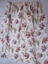 Laura Ashley Country Tape Top Curtains