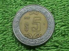 MEXICO 5 Pesos 2007