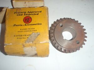 NOS Crankshaft Timing Gear 1951-1954 Henry J 134 ci 4-cylinder engine