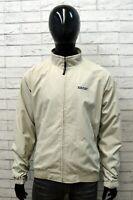 Woolrich Giacca da Uomo Taglia XL Cappotto Beige Giubbotto Nylon Jacket Man Top
