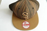 CHICAGO WHITE SOX BROWN MLB 9FIFTY NEW ERA CAP  BRAND NEW MEN'S SMALL/MEDIUM