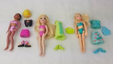 Polly pocket mini Bundle  Dolls. Dress, Outfit, bags. Shoes set..good condition