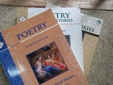 Poetry & Short Stories American Literature 1 Student Guide & Teacher & 1 Reader