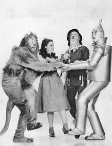 A3 SIZE Black & White - The Wizard of Oz Judy Garland Vintage 1939 poster